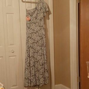 Show Me Your Mumu One Shoulder Dress